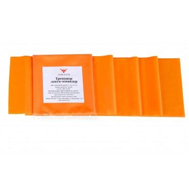 Латексная лента Adelante 1,5 м, начальный уровень, оранжевая