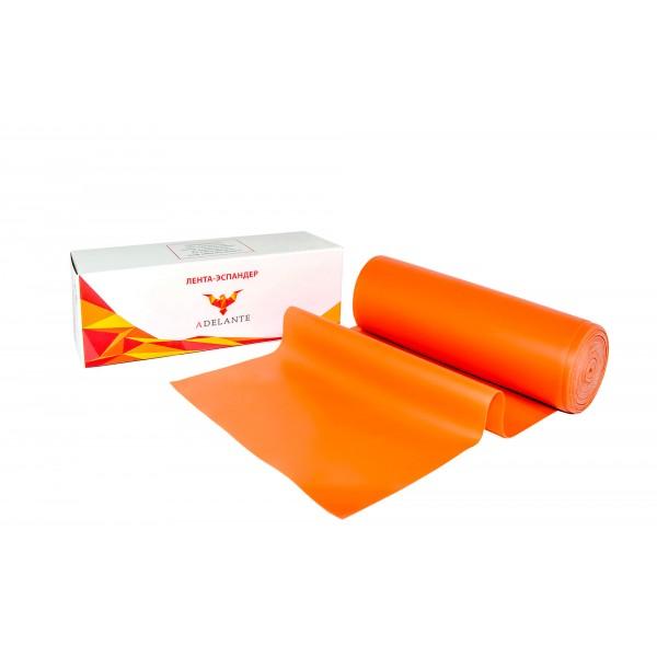 Латексная лента Adelante 6 м, начальный уровень, оранжевая
