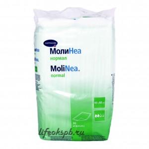 Одноразовые впитывающие пеленки MoliNea