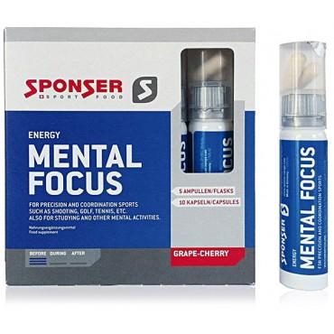 Sponser Mental Focus 5х25 мл