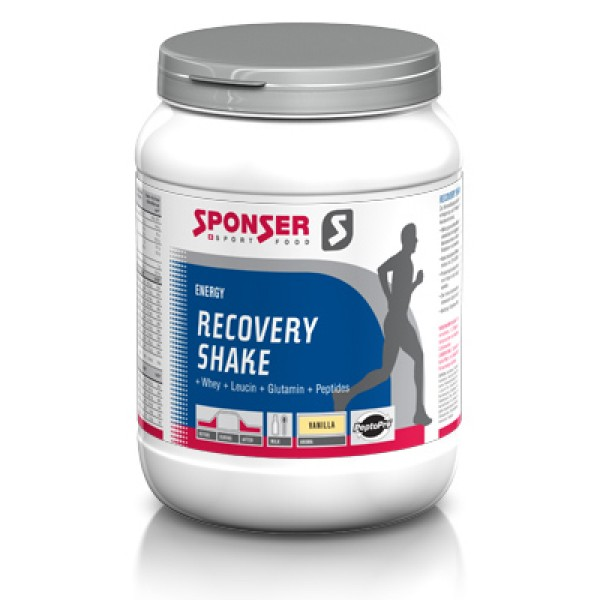 Гейнер Sponser Recovery Shake, 900 г (ваниль)