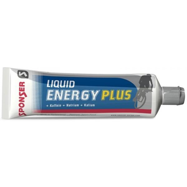 Энергетик Sponser Liquid Energy plus, 20х70 г, с кофеином