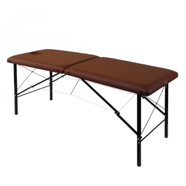 Складной деревянный масажный стол 185х62см