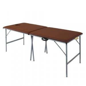 Складной массажный стол со стальным каркасом 195х77см