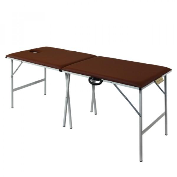 Складной массажный стол со стальным каркасом 190х70 см