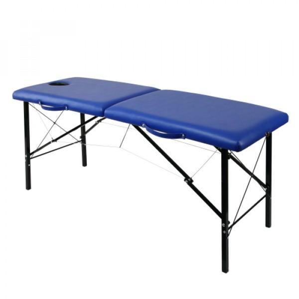Складной деревянный массажный стол с системой тросов 190х70 см