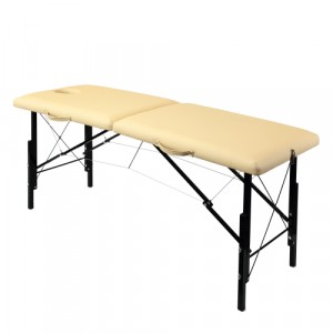 Складной деревяный массажный стол с системой тросов и изменением высоты 185х62 см