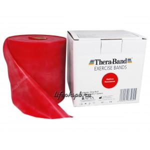 Лента-эспандер красная, средней плотности 12,8 см х 45,5 м  Thera-Band