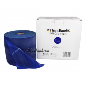 Лента-эспандер синяя, повышенной плотности 12,8 см х 45,5 м  Thera-Band