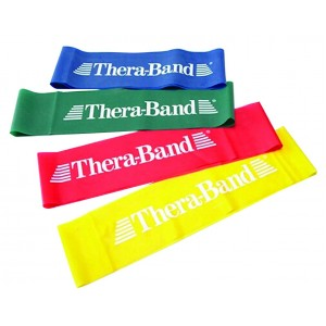 Лента-петля желтая, тонкая 7,6 см x 20 см Thera-Band