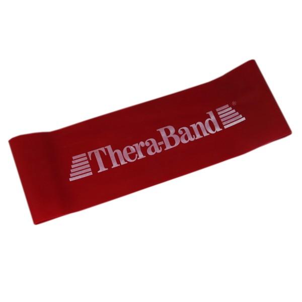 Лента-петля красная, средней плотности 7,6см x 20 см Thera-Band