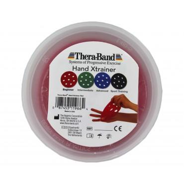 Тренажер для кистей рук XTrainer красный, начальный уровень Thera-Band
