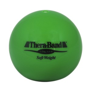 Шар Soft Weight (Мягкий вес) зеленый Thera-Band