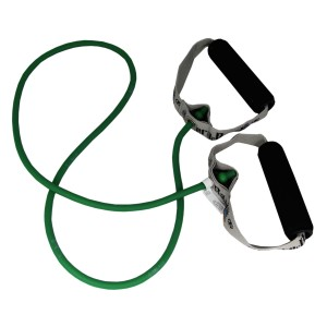 Жгут с мягкими ручками зеленый Thera-Band