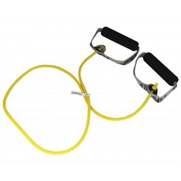 Жгут с мягкими ручками желтый Thera-Band