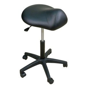 Premium Stool with Saddle Seat-High Height Range