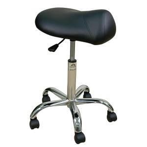 Professional Stool with Saddle Seat-High Height Range