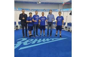 Мастер-класс по Tecar-терапии для баскетбольного клуба «Зенит»