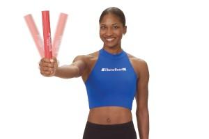 Коактивация мышц с гибким брусом FLEX BAR Thera-Band