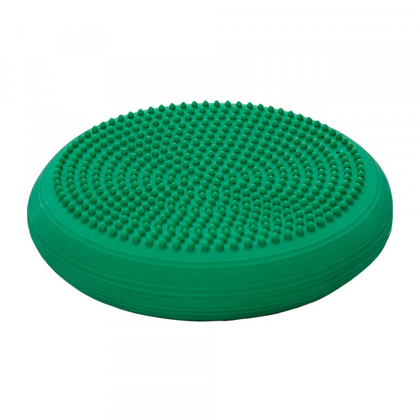 "Тренажер баланса Thera-Band ""подушка"", зеленый с шипами"