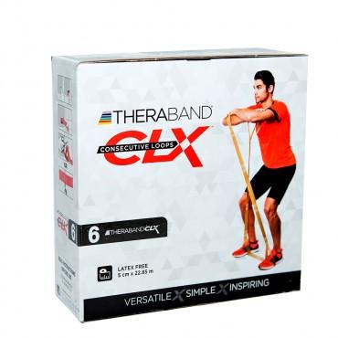 Лента-эспандер CLX Thera-Band, черная 22,85 м