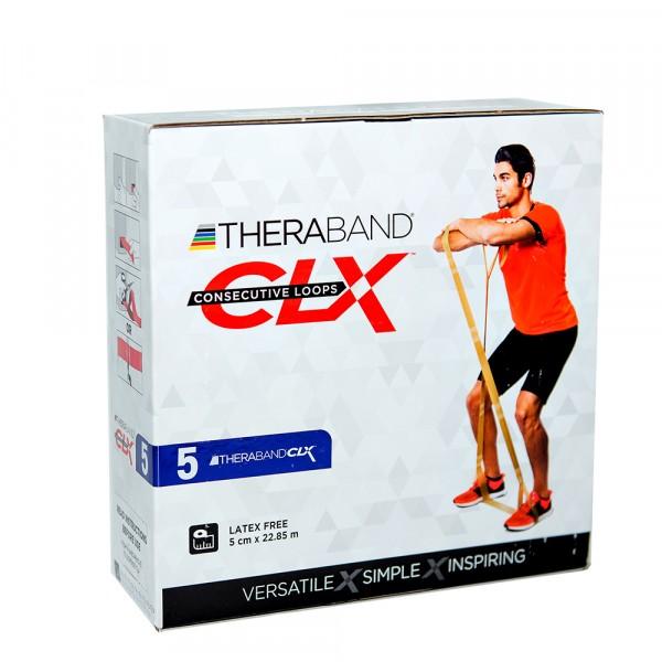 Лента-эспандер CLX Thera-Band, синяя 22,85 м