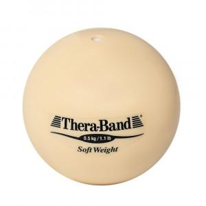 Шар Soft Weight (Мягкий вес) бежевый 0,5 кг Thera-Band