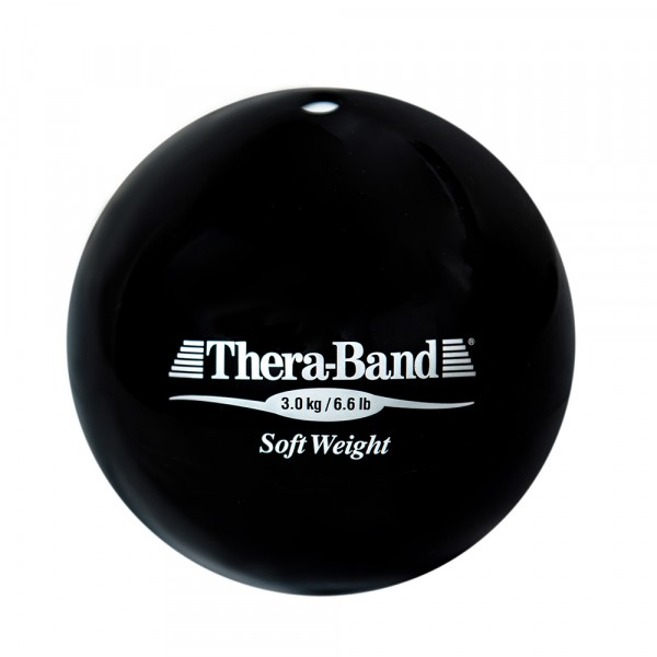 Шар Soft Weight (Мягкий вес) черный 3 кг Thera-Band