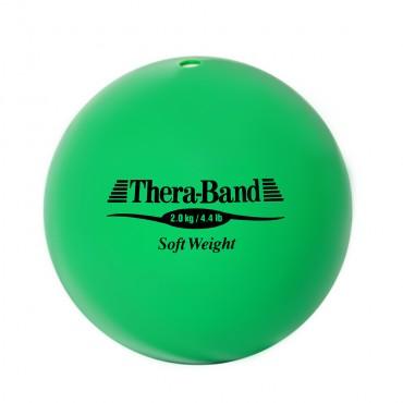 Шар Soft Weight (Мягкий вес) зеленый 2 кг Thera-Band