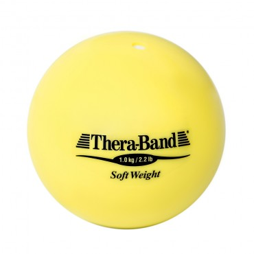 Шар Soft Weight (Мягкий вес) желтый 1 кг Thera-Band