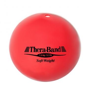 Шар Soft Weight (Мягкий вес) красный 1,5 кг Thera-Band