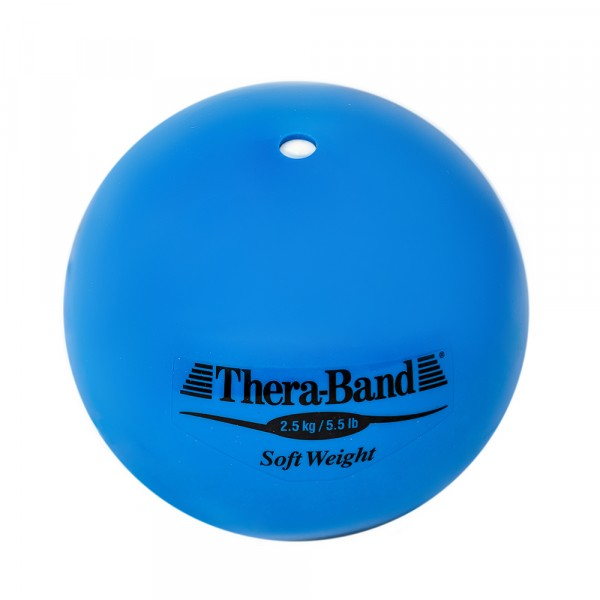 Шар Soft Weight (Мягкий вес) синий 2,5 кг Thera-Band