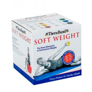 Шар Soft Weight (Мягкий вес) красный Thera-Band