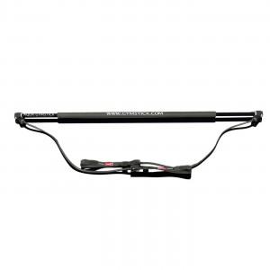 Гимнастическая палка с амортизатором Gymstick Aqua Strong черная
