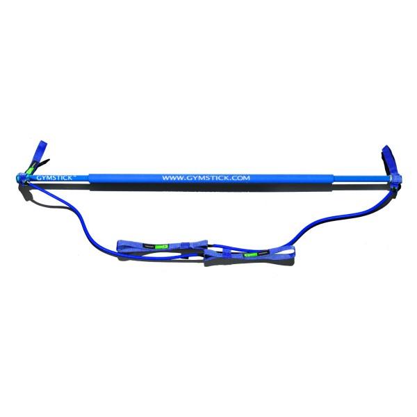 Гимнастическая палка с амортизатором Gymstick Aqua Medium синяя