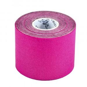 Кинезиологический тейп Adelante Extreme синтетический розовый 5м