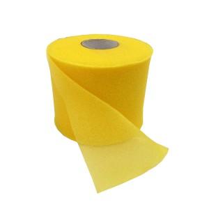 Тейп подкладочный Cramer  7,0 см х 27,4 м желтый