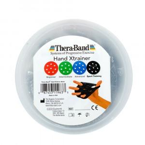 Тренажер для кистей рук XTrainer черный, уровень-Sport Thera-Band