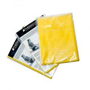Лента-эспандер желтая, тонкая 1,5 м Thera-Band