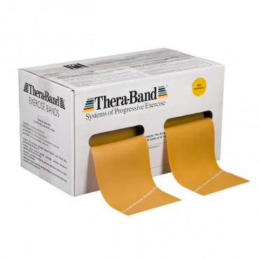 Лента-эспандер золотая, максимальной плотности 12,8 см х 45,5 м Thera-Band