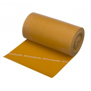 Лента-эспандер золотая, максимальной плотности 12,8 см х 5,50 м Thera-Band