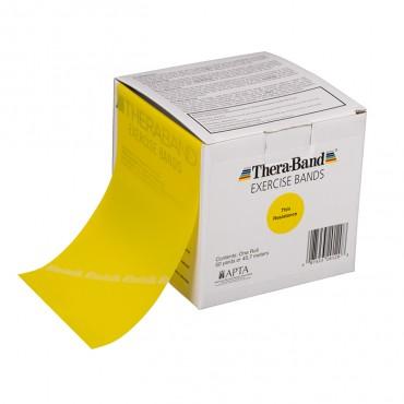 Лента-эспандер желтая, тонкая 12,8 см х 45,5 м  Thera-Band
