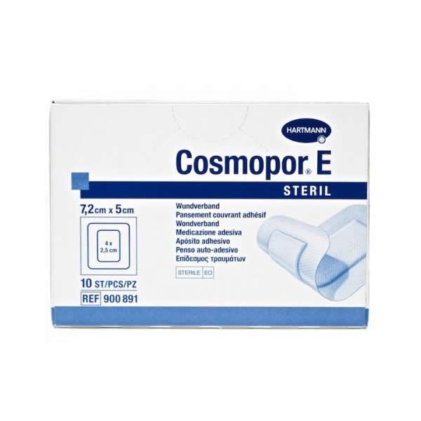 Самоклеящаяся послеоперационная повязка Cosmopor E 7,2 х 5 см