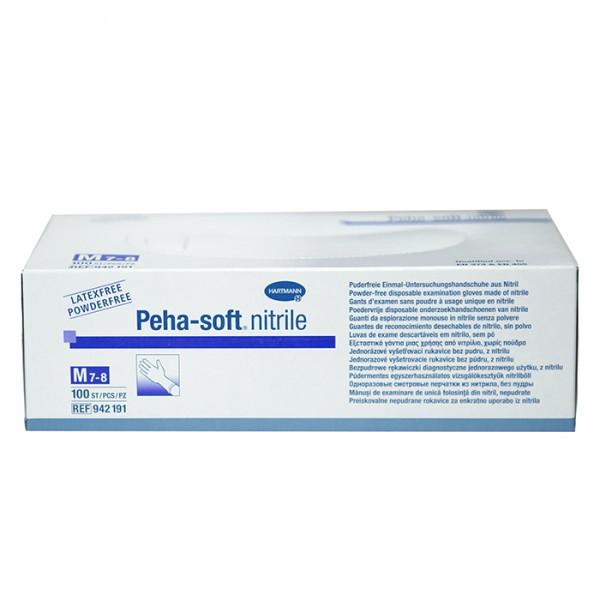 Диагностические перчатки Peha-soft M 100 шт