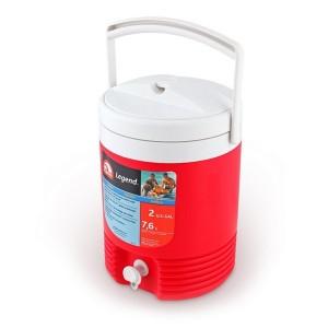 Изотермический контейнер IGLOO 2 GAL Legend (7 л.) красный