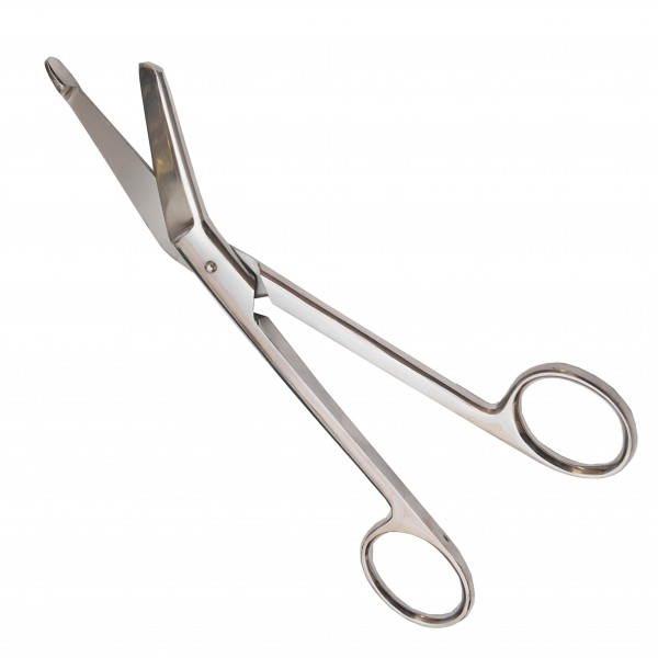 Ножницы для разрезания повязок с пуговкой 185 мм