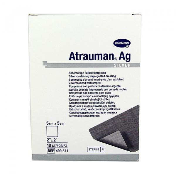 Повязки с серебром ATRAUMAN AG silver 5 см х 5 см