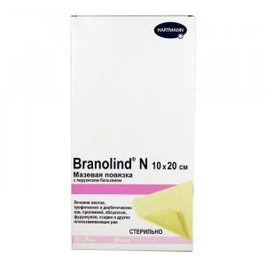 Мазевая повязка с перуанским бальзамом Branolind N 10 x 20 см