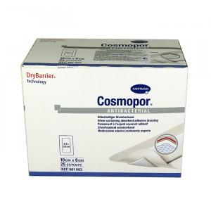 Серебросодержащая самоклеящаяся повязка COSMOPOR Antibacterial 10 x 8 см