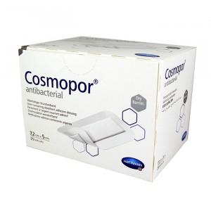 Серебросодержащая самоклеящаяся повязка COSMOPOR Antibacterial 7,2 x 5 см